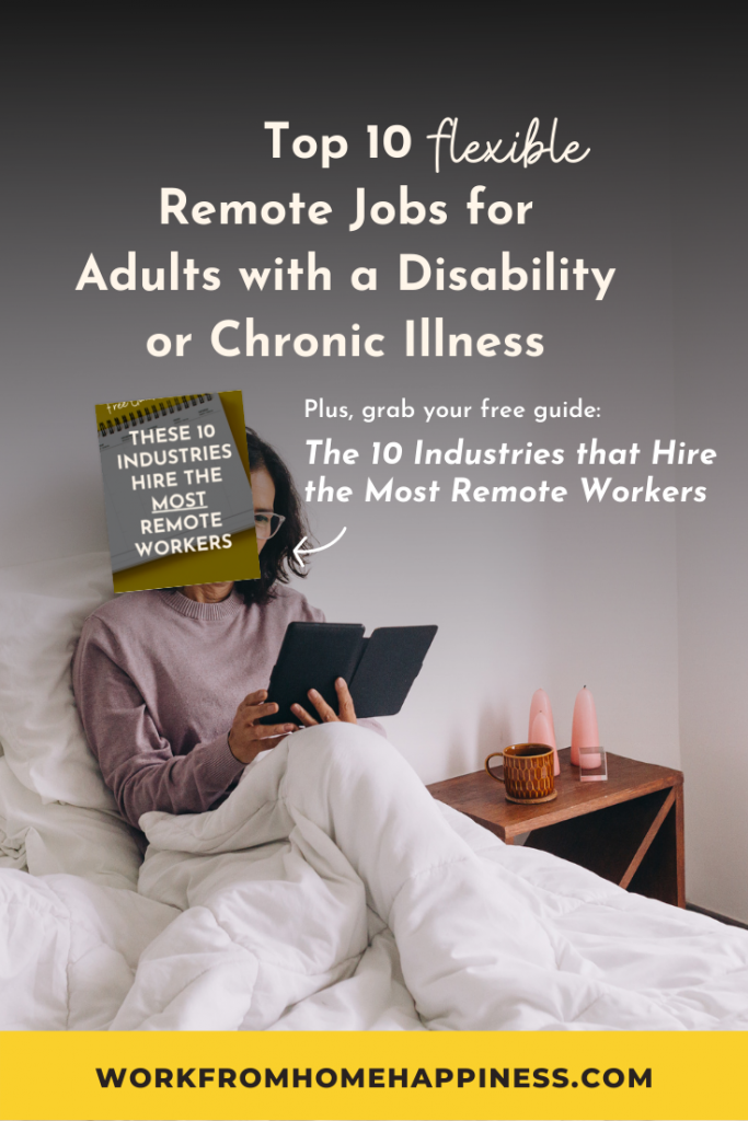 10 Flexible Remote Jobs for Disabled Adults